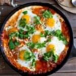 Яйца в доматен сос