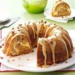 Ябълков кекс с вкусен пълнеж