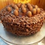 Великденска козуначена торта
