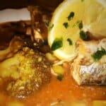 Скумрия в доматен сос