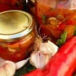 Мариновани печени пиперки