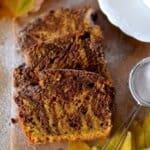 Ароматен мраморен кейк с тиква