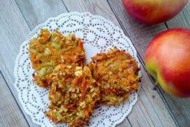 Вкусни, здравословни плодови бисквити без брашно