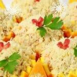Ефектна салата с портокали