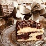 Топящ се десерт с череши