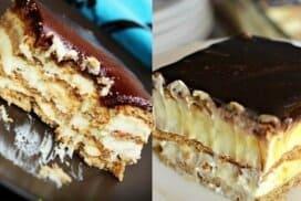 Най-бързата еклерова торта