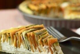 Топящ се в устата зеленчуков тарт