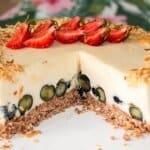 Без печене, без сложно и трудоемко готвене! А резултатът – свежа, ефирна, вълшебно вкусна торта!