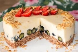 Без печене, без сложно и трудоемко готвене! А резултатът - свежа, ефирна, вълшебно вкусна торта!