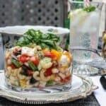 Вкусна лятна салата с макарони