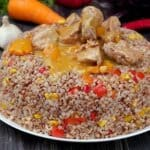 Ефектно и много вкусно ястие с говеждо месо и елда