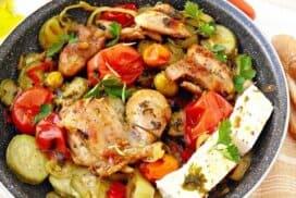 Когато омайващият вкус на лятната градина срещна крехкото пилешко филе, се появи тази чудесна лятна рецепта!