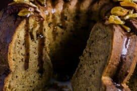 В този кейк умело се съчетават карамелен и пиперливия вкус. А уникалният му аромат, ще Ви омая!