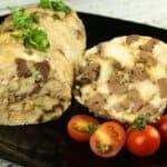 Невероятно вкусно роле с пилешко месо, сърца и гъби