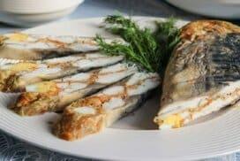 След  тази невероятна рецепта ще забравите завинаги за печената или пържена скумрия! Вкус един път!