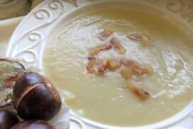 Ароматна крем супа от кестени