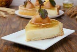 Съвършен десерт с круши! Семпъл, красив и безумно вкусен!
