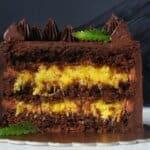Съвършенство от шоколад и портокали! Уникалнo балансиран вкус само за ценителите на шоколадови десерти!