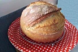 Удивителен хляб, изпечен в йенска тенджера