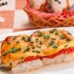 "Рибно ястие ""Мечта""-деликатно филе, хрупкави домати и чудесна коричка"