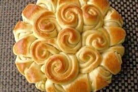 Красива като цвете и същевременно мека като памук питка