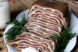 Изключителна рецепта за апетитни и меки свински уши