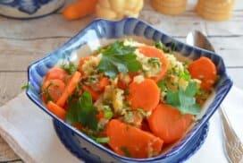 Топло блюдо от моркови и ряпа! Подходящо както като гарнитура, така и като салата!