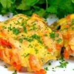 Идеалната рецепта за съвършено крехки пържоли, а вкусната им плънка прави гарнитурата излишна!