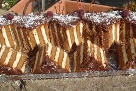 Царицата на бързите торти! Красива, много вкусна и при това я приготвих само от 3 СЪСТАВКИ!