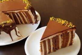 Царицата на тортите без печене! Не само красива, но и безумно вкусна!