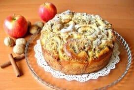 Чудо от 2 ябълки, орехи и канела! Удивително вкусно! Опитайте!