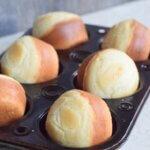 Мамината рецепта за бомбастично вкусни мини хлебчета без месене! Много бърза и лесна рецепта!