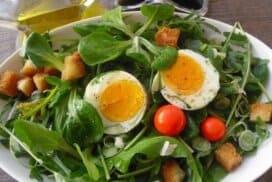 Апетитна зелена салата