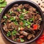Тжвжик- традиционно арменско ястие