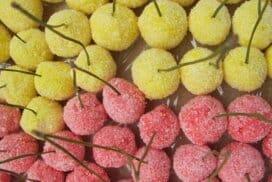 Лесни и чудесни черешки! Много вкусен и оригинален десерт, любим на малки и големи.