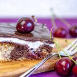 Десерт мечта! Вкусни череши, мек блат и уникален крем! Опитайте!