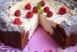 Божествен десерт, който съчетава пухкав блат и невероятен крем! При това всичко се пече едновременно!