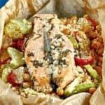 Няма такава вкусотия! Ефектно ястие с риба и зеленчуци в пергамент