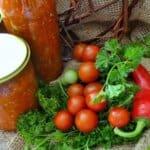 Всяко лято приготвям този ароматен зеленчуков сос. Зимата само отварям и добавям към ястията!