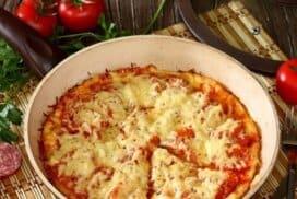 Експресна пица на тиган, готви се за точно 10 минути