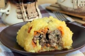 Две шепи кайма, няколко картофа и приготвям ястие, от което ще си оближете пръстите!
