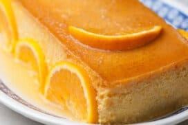 Фантастичен флан с примамлив портокалов аромат