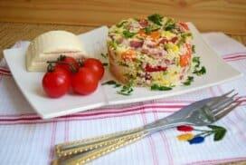 Хармонична комбинация от вкусове и цветове, поднесена в чиния