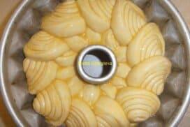 Eдна малка питка от шайби, изпечена в кексова форма