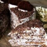 Италианска орехова торта- наслада за окото и небцето