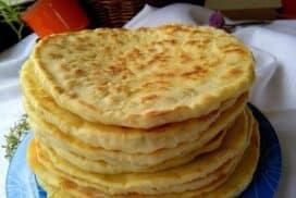 Базлами-меки, домашни турски питки на тиган
