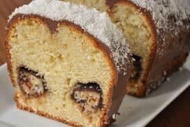 Много вкусен и лесен домашен кекс с невероятна плънка!