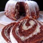 Ненадминат двуцветен десерт в кексова форма! Уникално вкусно!