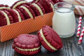 """Всички полудяха по класическия ненадминат вкус на  тези слепени бисквитки """"Червено кадифе""""!"""