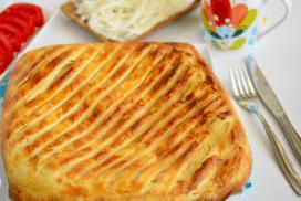 Катмер бюрек- удивително вкусно печиво от турската кухня